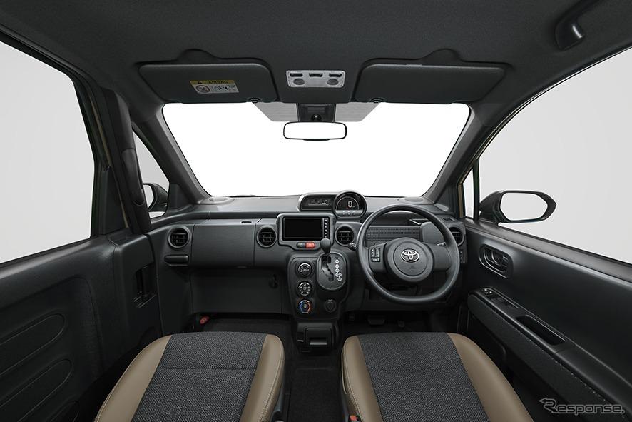 ポルテ 特別仕様車 G グランパー ブラックインテリア《画像:トヨタ自動車》