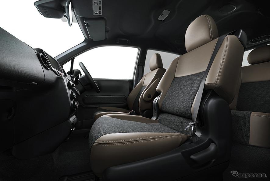 ポルテ 特別仕様車 G グランパー 内装《画像:トヨタ自動車》