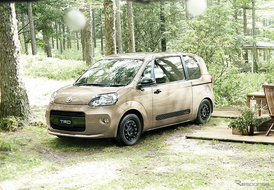 ポルテ 特別仕様車 G グランパー GLAMPER meets TRD アクティブキット装着車《画像:トヨタ自動車》