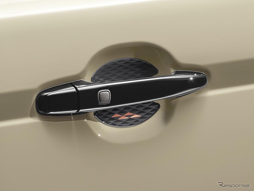 ポルテ 特別仕様車 G グランパー GLAMPER meets TRD ドアハンドルプロテクター《画像:トヨタ自動車》