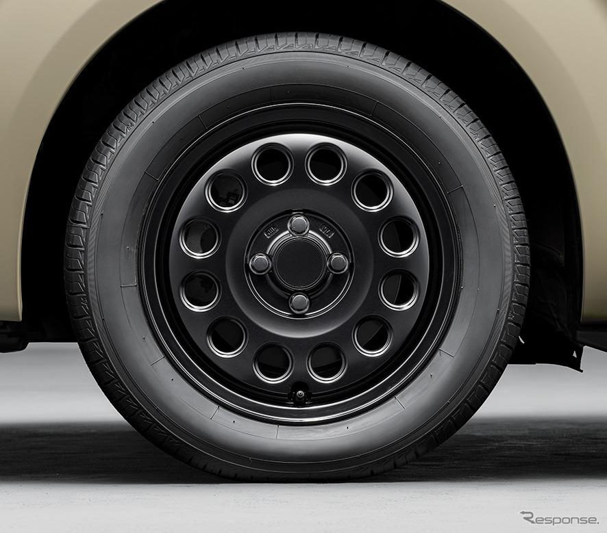 ポルテ 特別仕様車 G グランパー GLAMPER meets TRD 15インチアルミホイールキット《画像:トヨタ自動車》