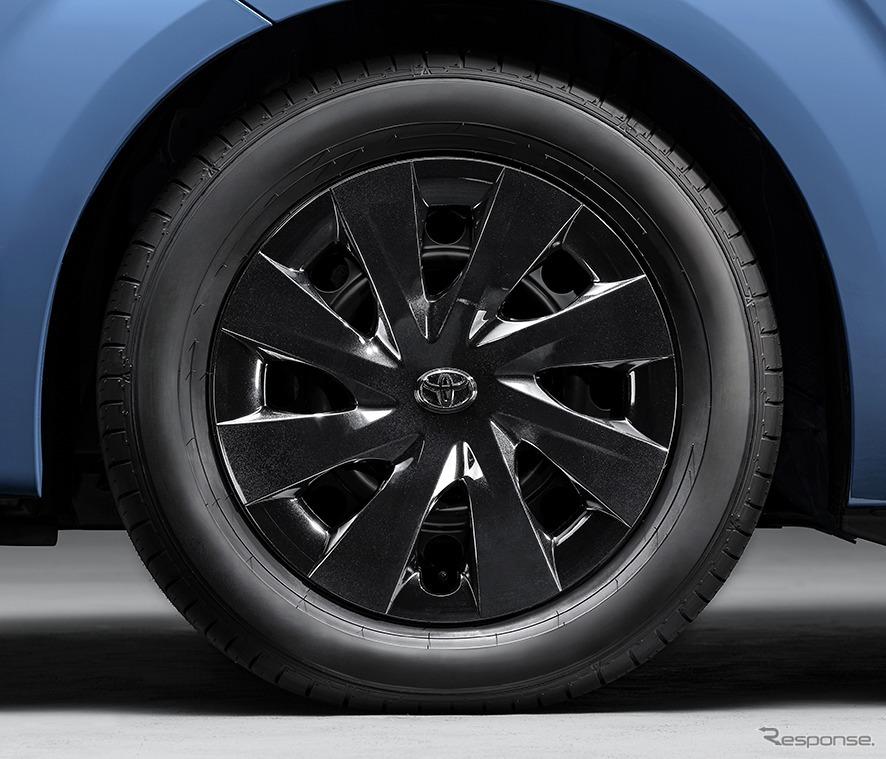 スペイド 特別仕様車 F グランパー ホイールキャップ《画像:トヨタ自動車》