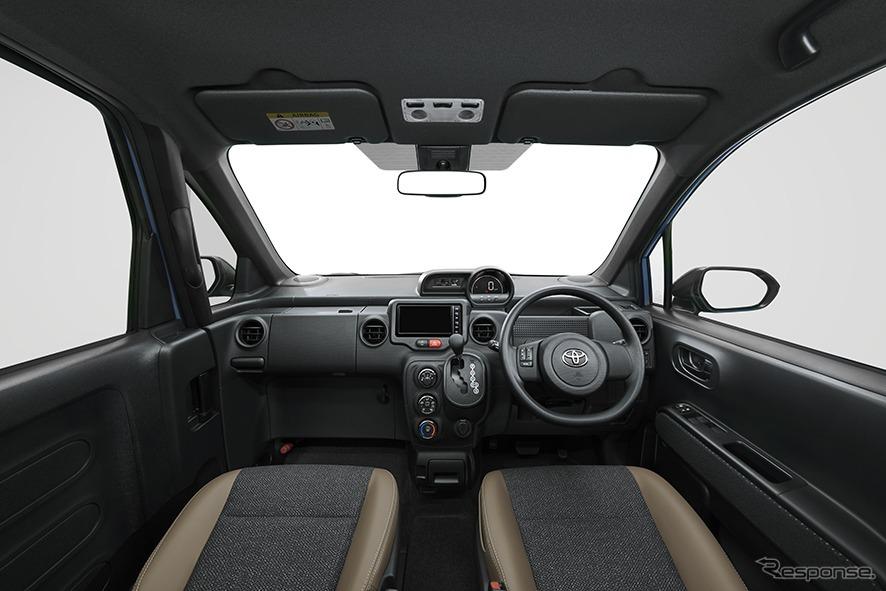 スペイド 特別仕様車 F グランパー ブラックインテリア《画像:トヨタ自動車》