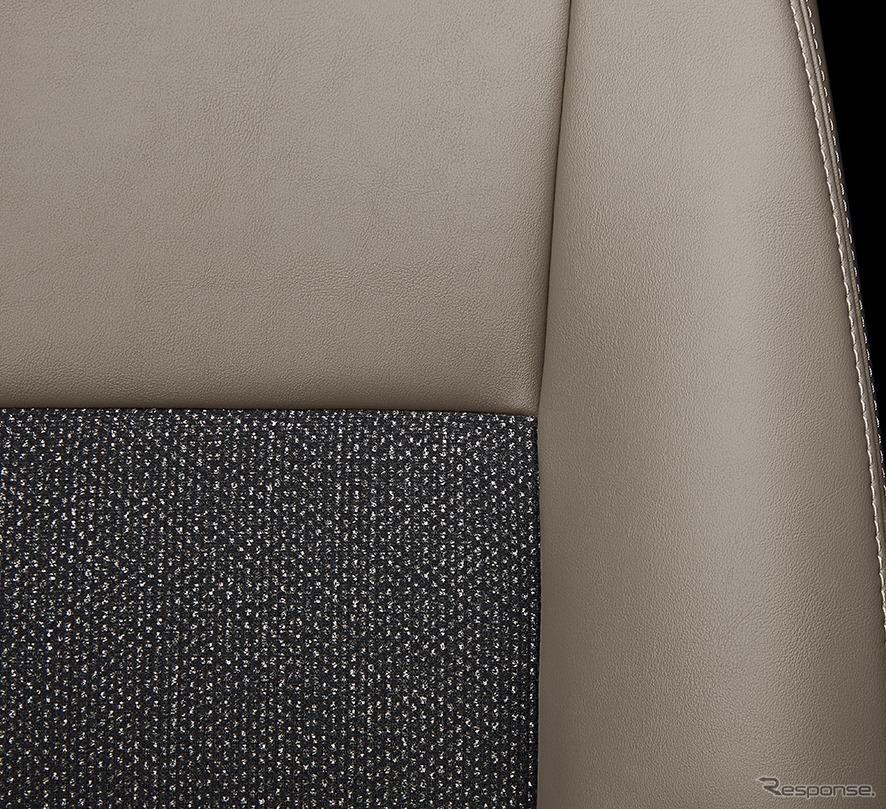 スペイド 特別仕様車 F グランパー 専用ファブリックシート表皮《画像:トヨタ自動車》