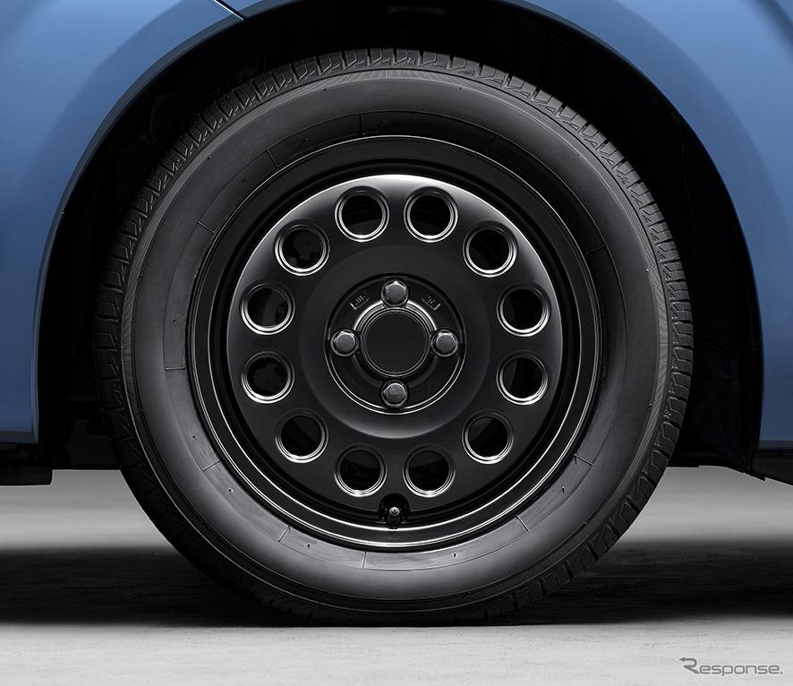 スペイド 特別仕様車 G グランパー GLAMPER meets TRD 15インチアルミホイールキット《画像:トヨタ自動車》