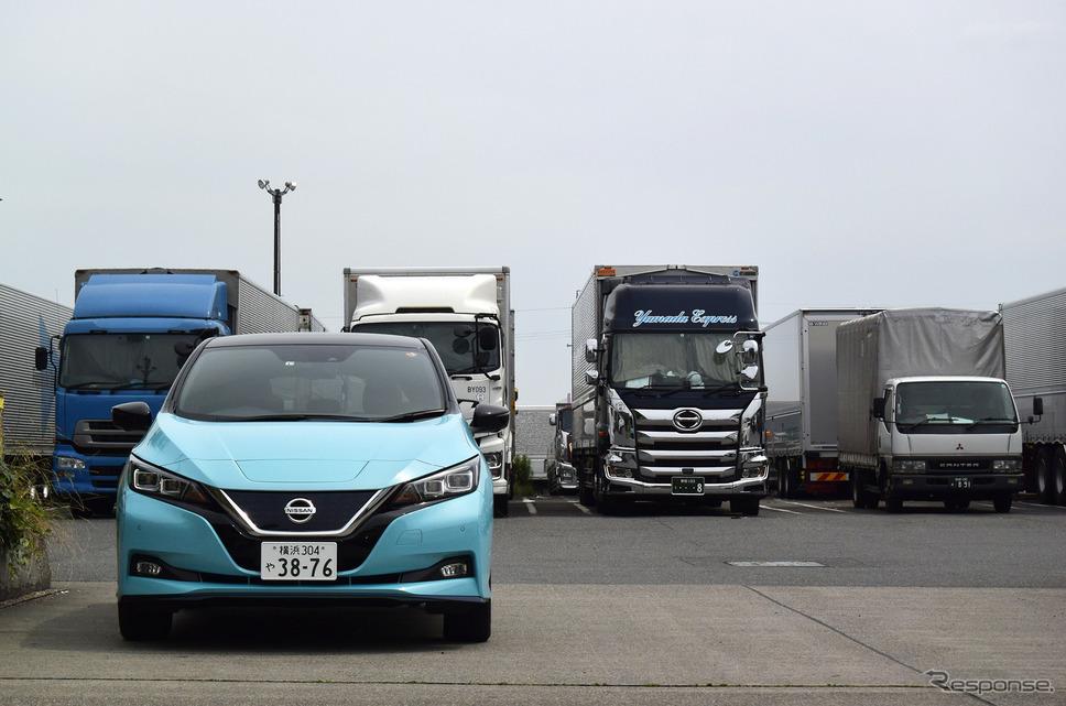 名古屋のトラックステーションにて。《撮影 井元康一郎》