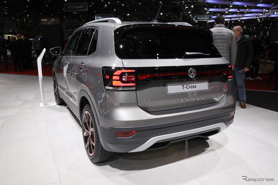 VW Tクロス(ジュネーブモーターショー2019)《撮影 佐藤靖彦》