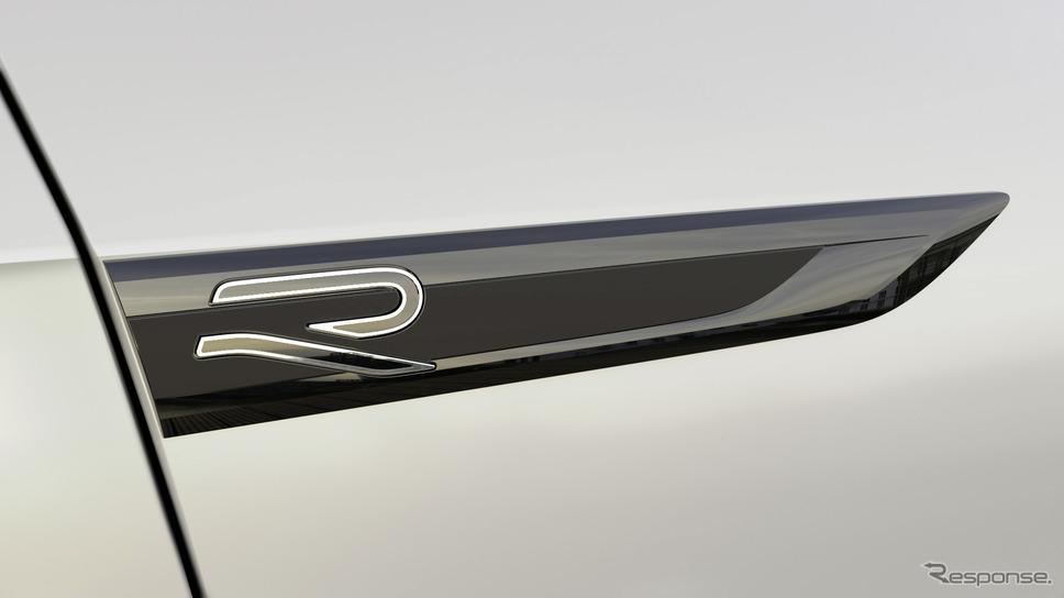 フォルクスワーゲン R の新たなロゴ《photo by VW》