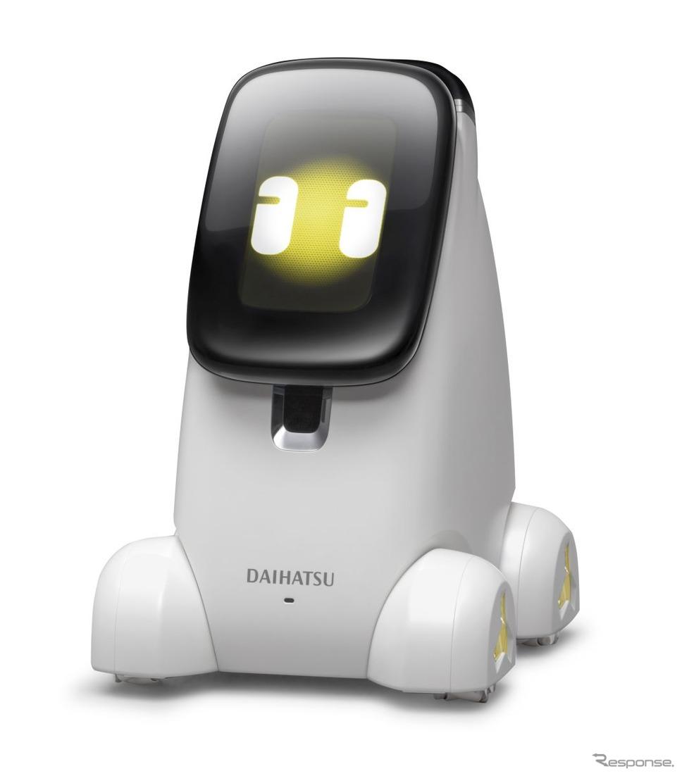 お世話ロボットNipote:IcoIcoに搭載される《写真提供:ダイハツ広報部》