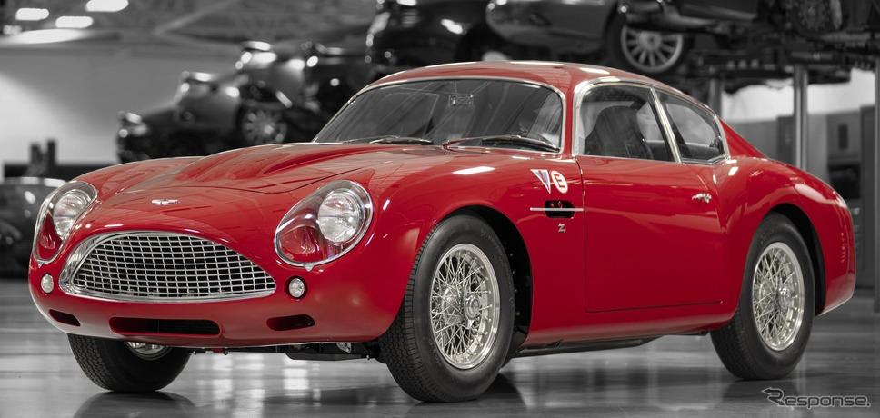 アストンマーティン DB4 GT Zagato コンティニュエーション《photo by Aston Martin》