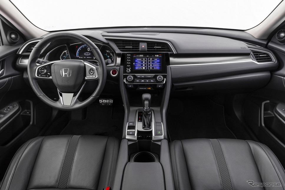 ホンダ・シビック・セダン の2020年モデル《photo by Honda》
