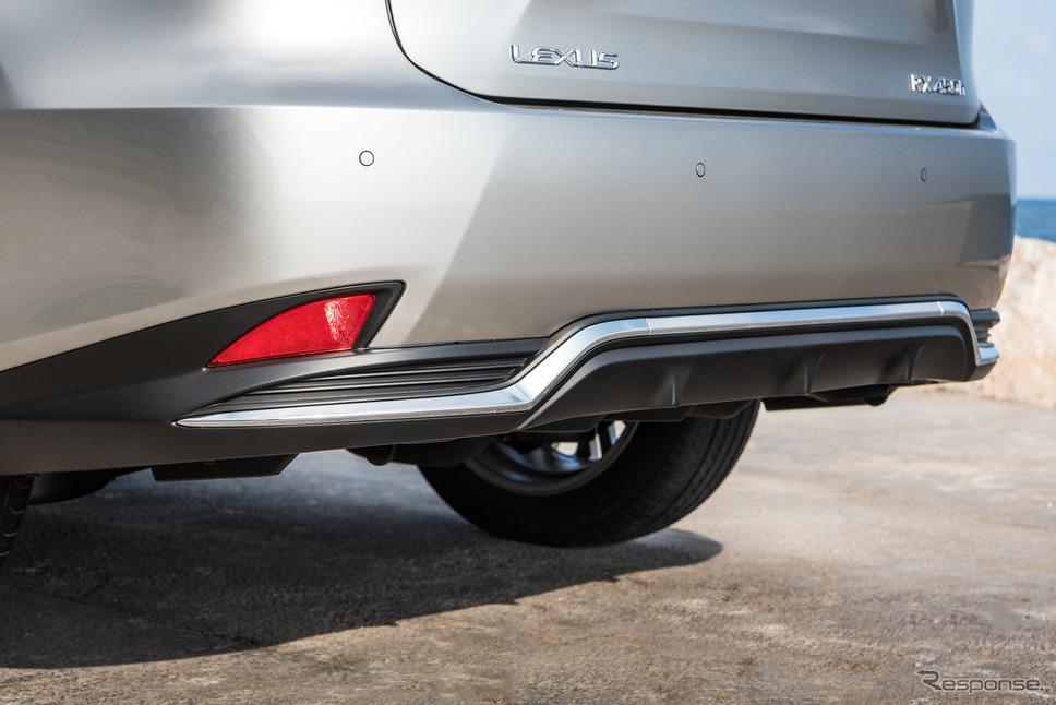 レクサス RX の2020年モデル(欧州仕様)《photo by Lexus》