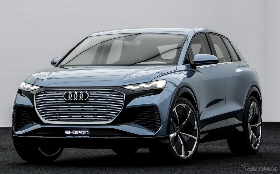 アウディ Q4 e-tron コンセプト《photo by Audi》