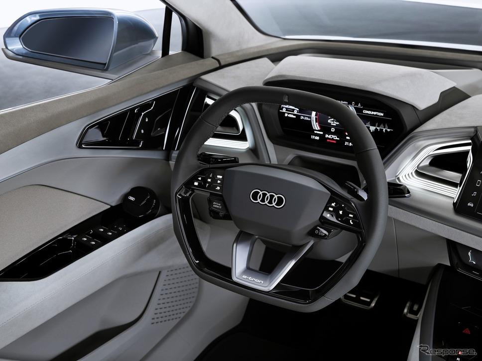 アウディQ4 e-tronコンセプト《photo by Audi》