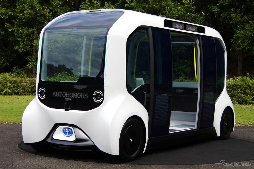 トヨタ自動車 e-Palette東京2020オリンピック・パラリンピック仕様《撮影 小松哲也》