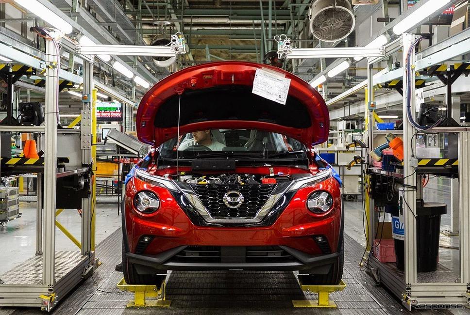 日産 ジューク 新型の生産が開始された英国サンダーランド工場《photo by Nissan》