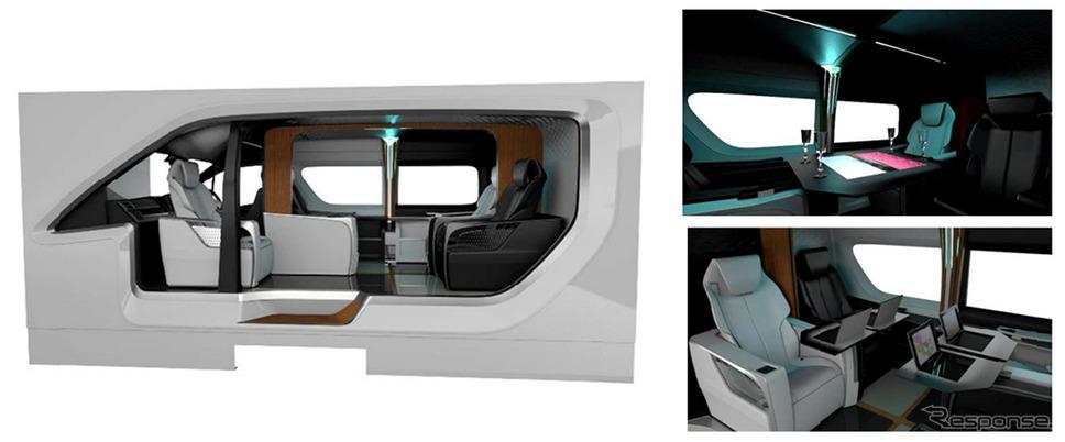 トヨタ車体リゾートツアラー・コンセプト《画像:トヨタ車体》