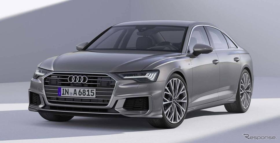 アウディA6セダン新型《photo by Audi》