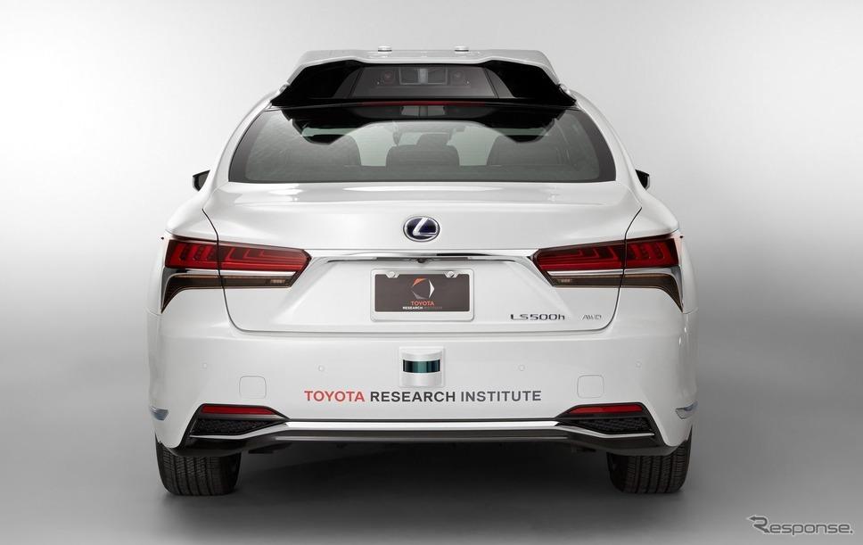 トヨタの新型自動運転実験車 TRI-P4レクサスLSベース(参考画像)《photo by Toyota》