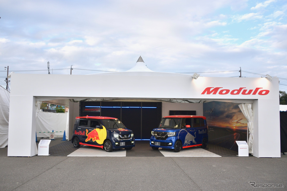 F1日本グランプリ/モデューロブース《撮影 後藤竜甫》