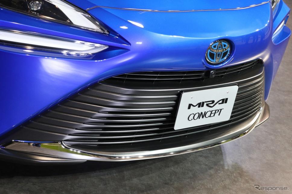 トヨタ MIRAI(ミライ)コンセプト(東京モーターショー2019出品車)《撮影 平川 亮》