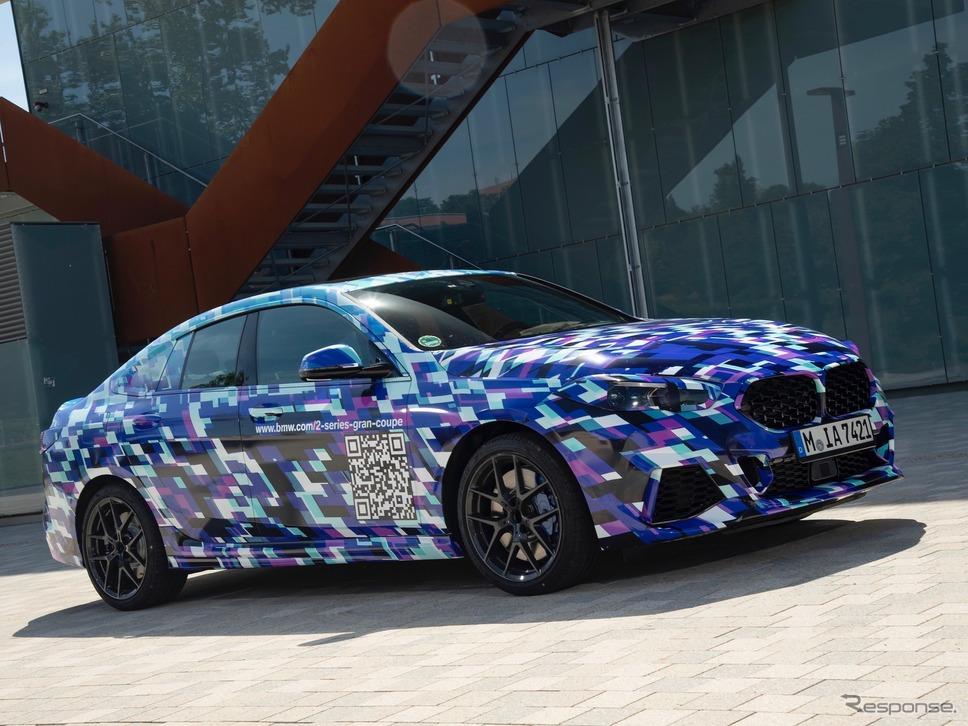 BMW 2シリーズ・グランクーペ の開発プロトタイプ《photo by BMW》