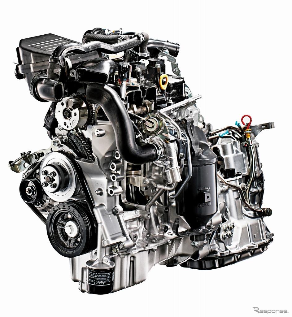 ツインカムDVVT 3気筒12バルブインタークーラーターボ付エンジン《画像:トヨタ自動車》