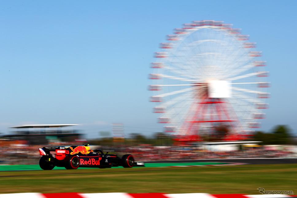 F1日本グランプリ《提供 AT&T》