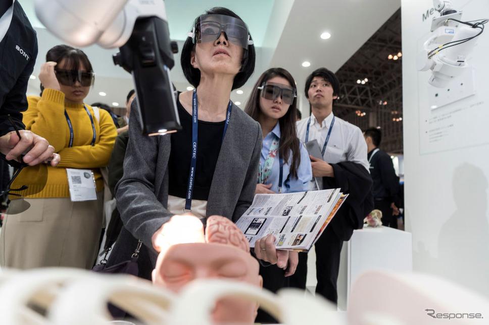 ソニー(CEATEC 2019)《photo (c) Getty Images》