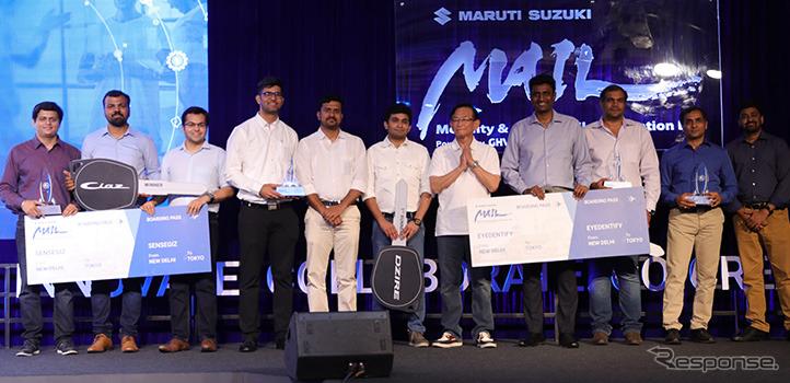 マルチスズキがスタートアップ5社と提携《photo by Maruti Suzuki》