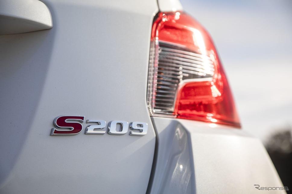 スバル STI S209(米国仕様)《photo by SUBARU》