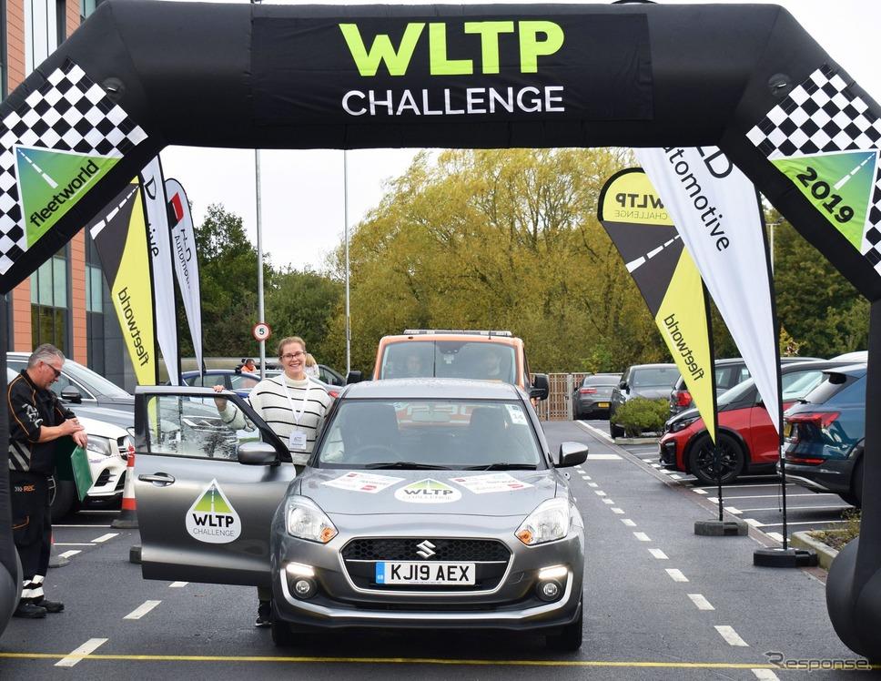 英国『フリート・ワールド』誌主催の燃費チャレンジに参加したスズキ・スイフト《photo by Suzuki》