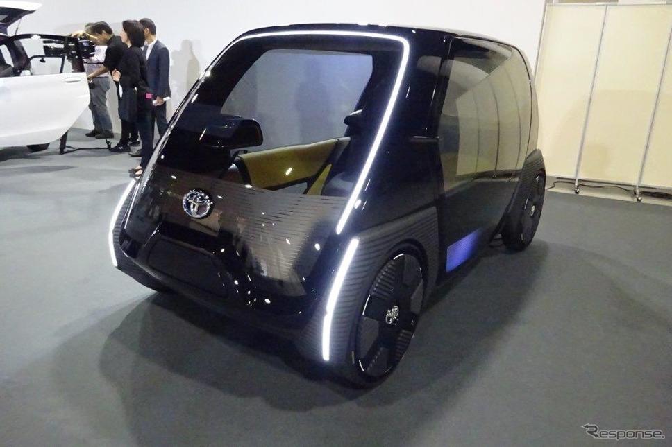 トヨタ 超小型EV ビジネス向けコンセプトモデル《撮影 池原照雄》