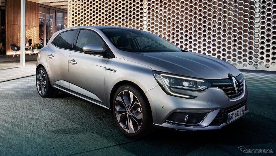 ルノー・メガーヌ《photo by Renault》