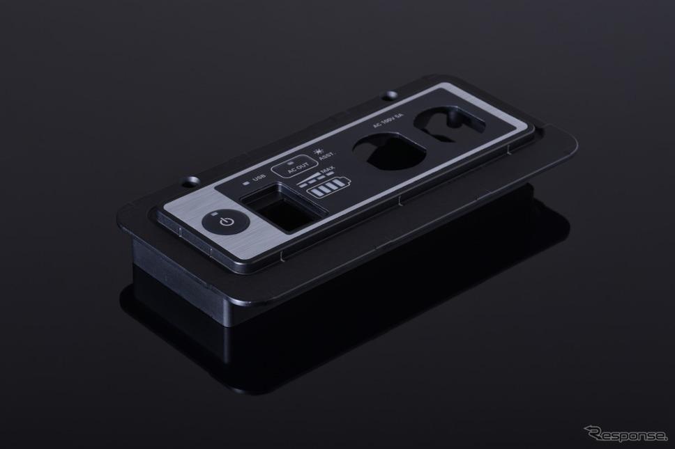 ホンダ LiB-AID E500 for Music コントロールパネル《画像:本田技研工業》