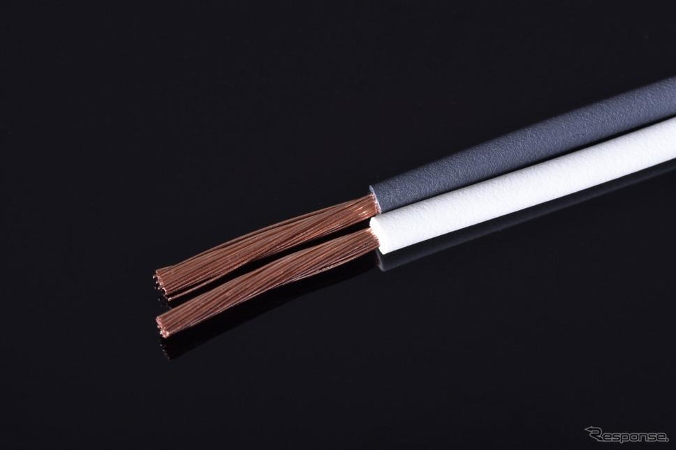 ホンダ LiB-AID E500 for Music 配線材《画像:本田技研工業》