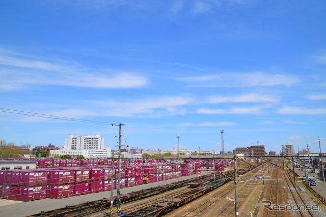 仙台貨物ターミナル(資料画像)《写真AC》