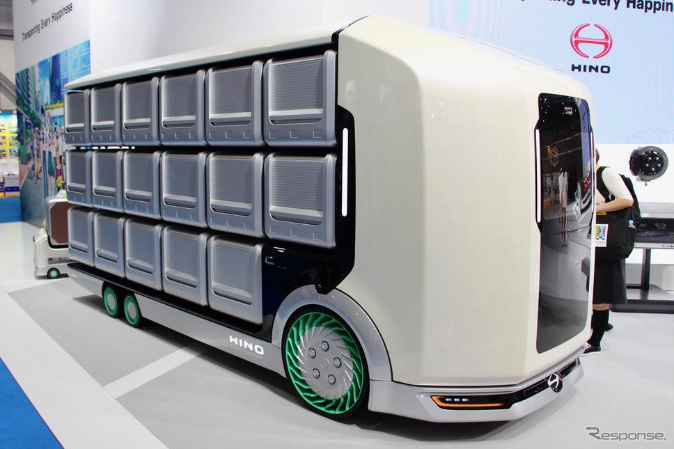日野自動車(東京モーターショー2019)《撮影 河村大志》
