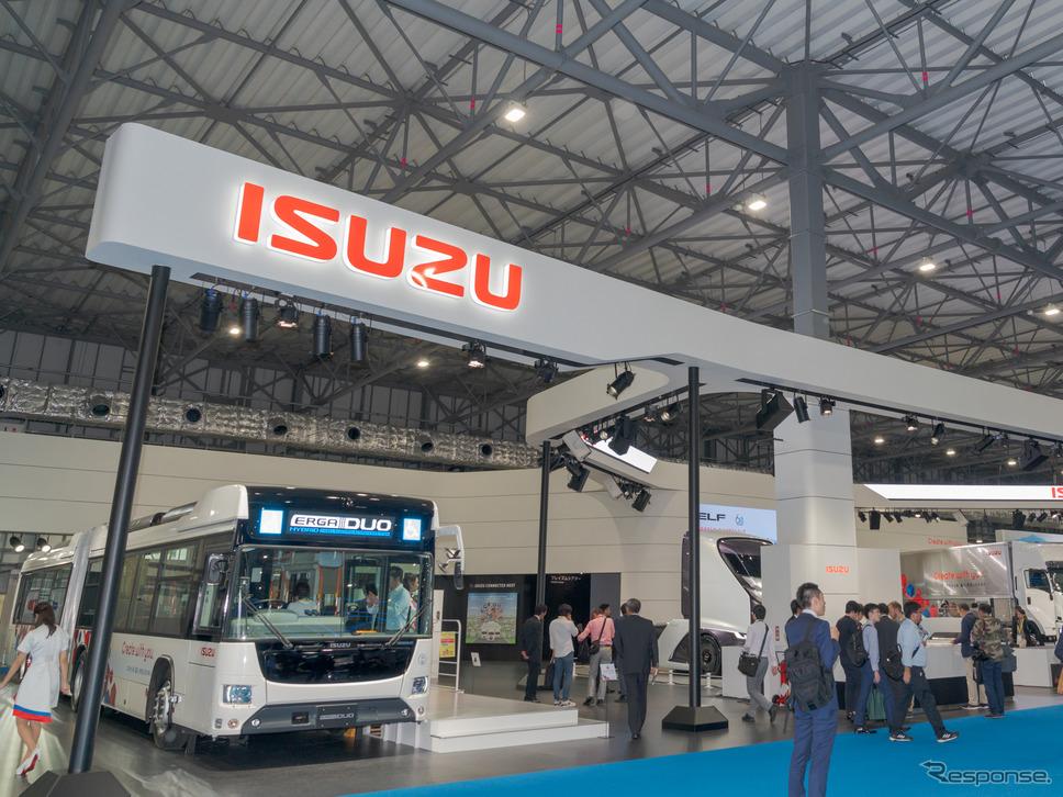 新しい時代の「運ぶ」を提案するいすゞ自動車…東京モーターショー2019《撮影 関口敬文》