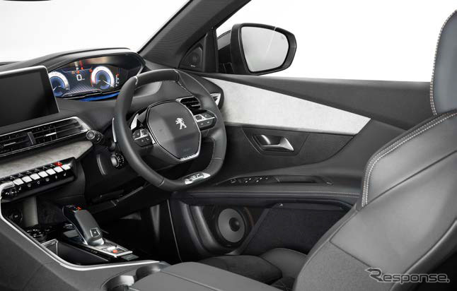 BEWITHプラチナボイス、プジョー 3008 GT BlueHDiへの装着イメージ《写真 BEWITH》