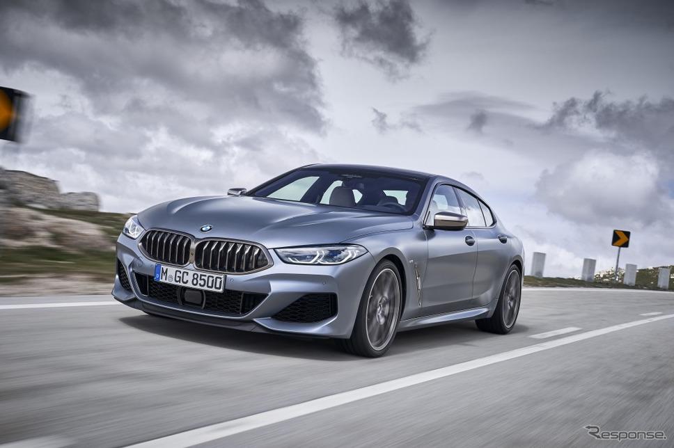 BMW 8シリーズ グランクーペ《画像:ビー・エム・ダブリュー》
