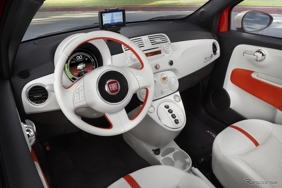 現行フィアット500のEV、500 e(参考画像)《photo by Fiat》