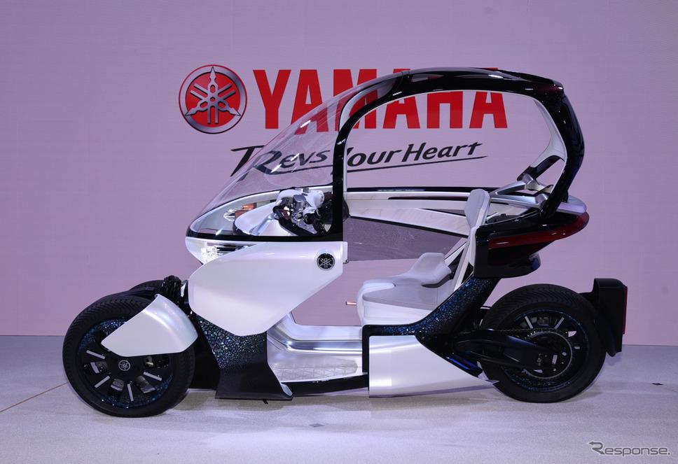 ヤマハ MW-VISION(東京モーターショー2019)《撮影 平原克彦》