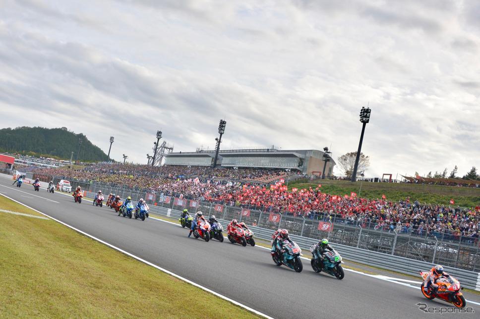 MotoGP 日本GP 決勝レース《撮影 後藤竜甫》