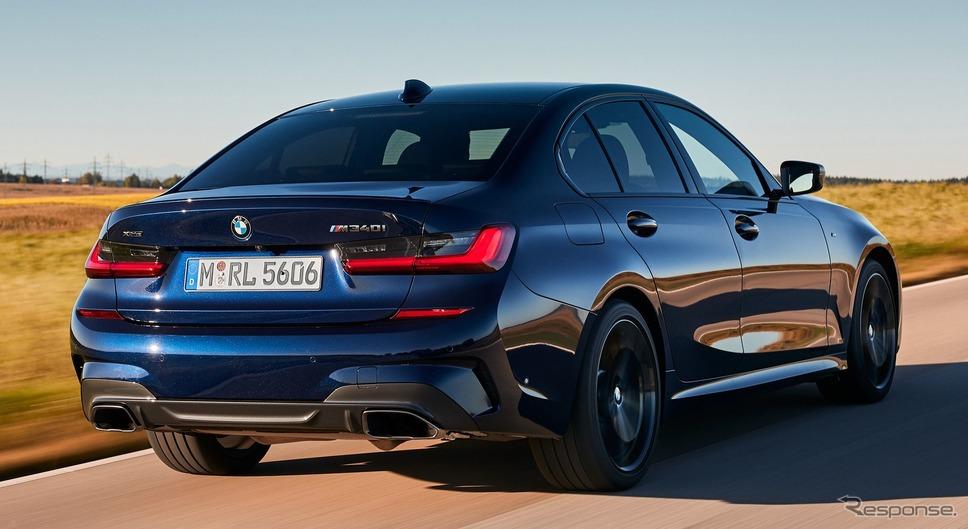 BMW 3シリーズ・セダン 新型の M340i xDrive《photo by BMW》