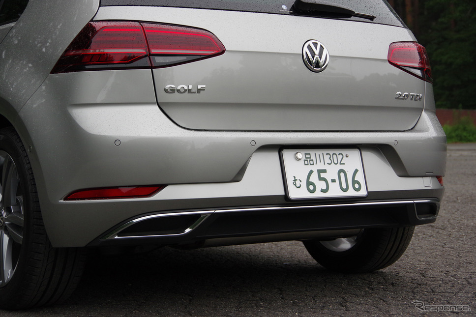 VW ゴルフ TDI《撮影 宮崎壮人》