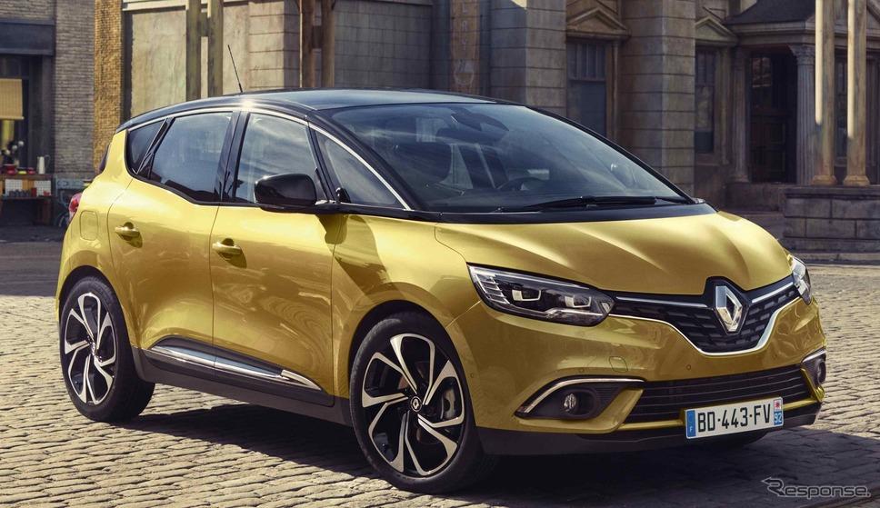ルノー・セニック《photo by Renault》