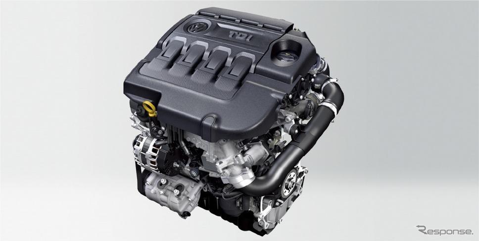 VW ゴルフ トゥーラン TDI プレミアム 2.0リットル TDIエンジンイメージ《画像:フォルクスワーゲングループジャパン》