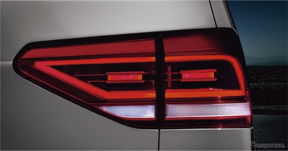 VW ゴルフ トゥーラン TDI プレミアム LEDテールランプ《画像:フォルクスワーゲングループジャパン》