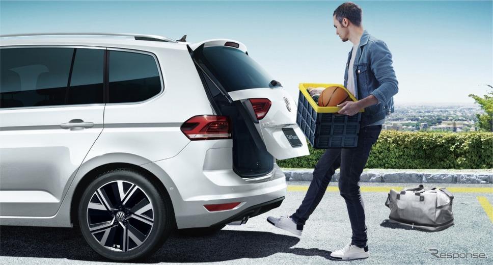VW ゴルフ トゥーラン TDI プレミアム パワーテールゲート《画像:フォルクスワーゲングループジャパン》